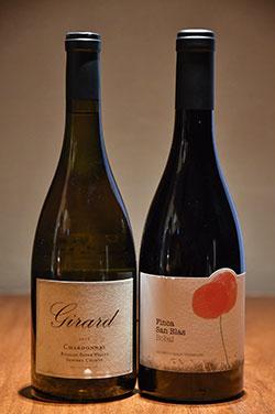 蟹には白ワインもよく合う。スッキリと透明感のある味わいが料理を引き立てるKENZOESTATE「あさつゆ」。