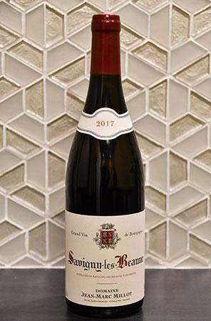 中国料理にはワインもよく合う。フカヒレ料理に合わせたいフレッシュな果実味の「Savigny-Les-Beaune」。