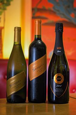 「トラピチェ ブロッケル」など料理の味を邪魔しないアルゼンチンワインは、前菜からメインまでさまざまなメニューと相性抜群。