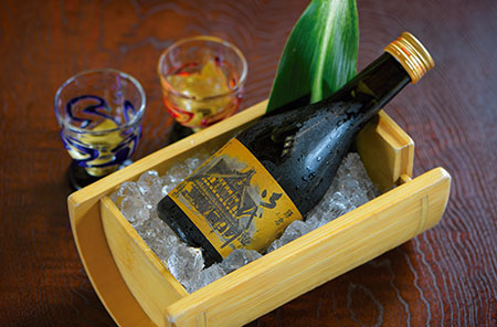 オリジナル吟醸酒「大吟醸 御代川」。果実のような吟醸香と気品ある味わいが特長だ。
